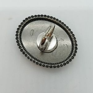 GASOLINE GLAMOUR Jewelry - Sun jasper cocktail ring sample